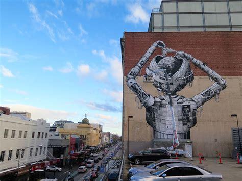 phlegm  provocare melbourne streetartnews streetartnews
