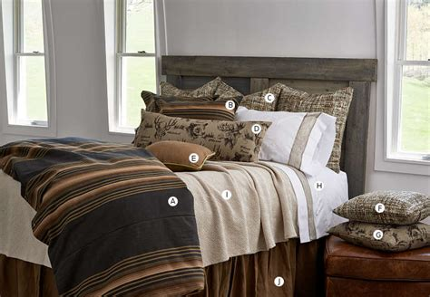 House Bedding by Traditions Linens Lake House Bedding Collection