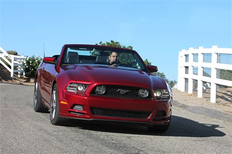 2014 mustang gt convertible price 2014 ford mustang gt convertible test motor trend