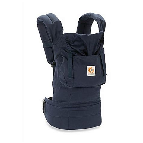 Organic Baby Carrier by Ergobaby Organic Cotton Collection Baby Carrier In Navy