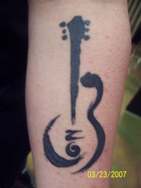 small guitar tattoo designs guitar images designs