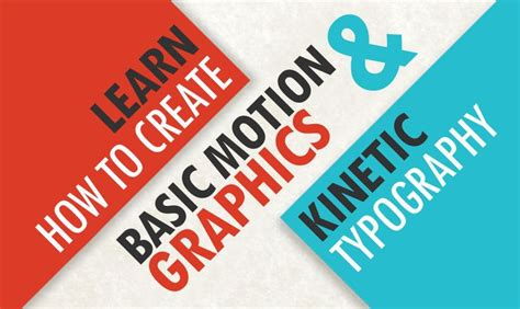 kinetic typography tutorial after effects pdf learn how to create basic motion graphics kinetic