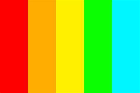 neon color palette neon rainbow color palette