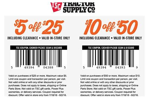 store supply coupons