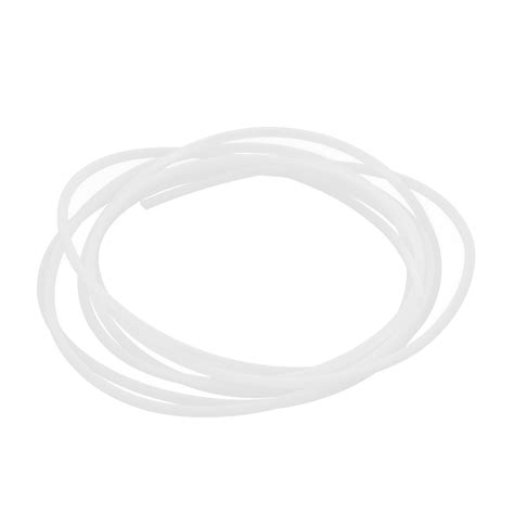 Ptfe 3mm uxcell 2mm id 3mm od ptfe tubing pipe 2meters for 3d printer reprap in pneumatic parts from