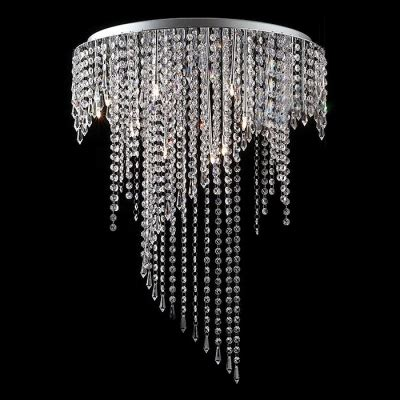 crystal curtain beads sparkling crystal beads curtain chrome finished stainless