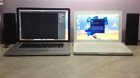 Macbook Pro White macbook pro early 2011 vs macbook white mid 2010 ssd startup and launching adobe photoshop cs6