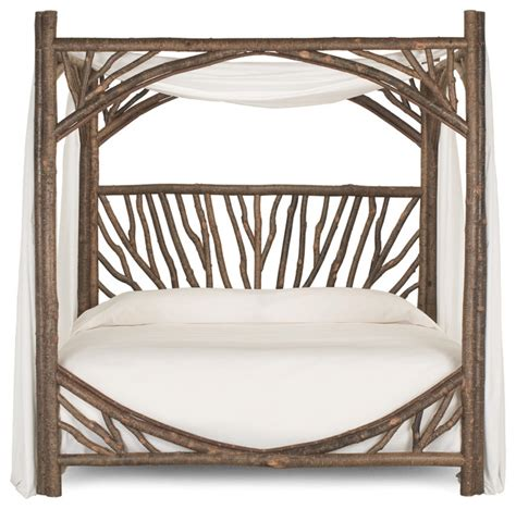 Bed Frames Milwaukee Rustic Canopy Bed 4282 By La Lune Collection Rustic Canopy Beds Milwaukee By La Lune
