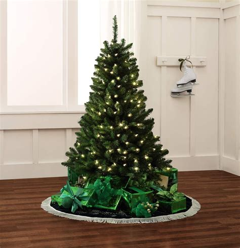 color switch plus christmas trees color switch plus 4 5 150 dual color led pre lit pine tree