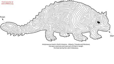 printable lizard maze image gallery dinosaur maze