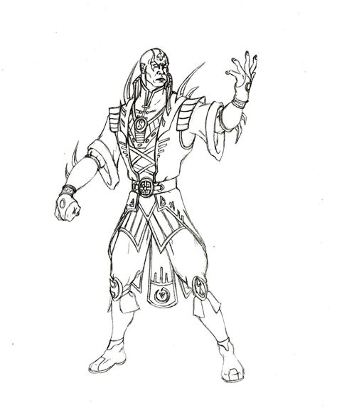 chibi mortal kombat coloring pages