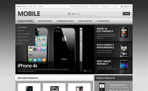 mobile themes prestashop mobile phones accessories prestashop theme 38330