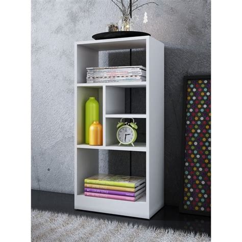 manhattan comfort serra 1 0 white 5 shelf bookcase manhattan comfort valenca 2 0 seres 5 shelf bookcase in
