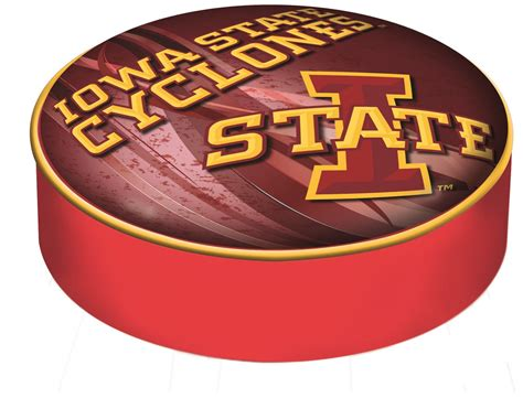 Logo Bar Stool Covers by Iowa State Seat Cover Logo Bar Stool Cover Bsciowast D2