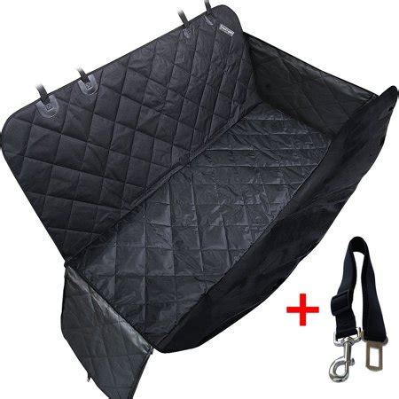 Pet Travel Hammock Seat Cover by Travel Inspira Pet Seat Cover For Cars Black Waterproof
