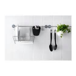 ikea picture rail ikea bygel rail can also be used as a towel rail saves space on the worktop