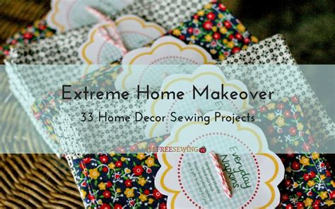 home decorating sewing projects national sewing month 2016 day 17 33 home decor projects