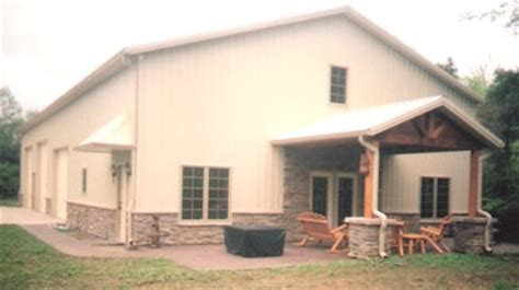 Barn Homes Kits indiana post frame buildings