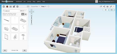 free 3d floor plan software free floor plan software floorplanner review