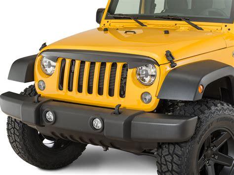 Quadratec Jeep Quadratec 174 Attitude Grille Deflector For 07 17 Jeep