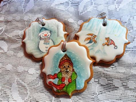 painted christmas cookies cookie connection