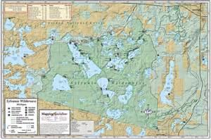 sylvania map sylvania wilderness fold map