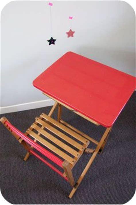 bureau pliant enfant bureau enfant pliant des 233 es 50 l atelier du petit parc