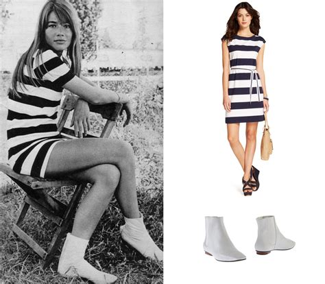 francoise hardy outfits decades of style fran 231 oise hardy 1960s tommy hilfiger