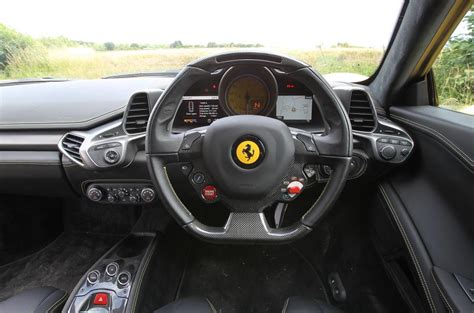 Inside Of A 458 Italia 458 Italia 2010 2015 Interior Autocar