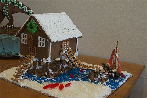 gingerbread beach house gingerbread beach house christmas pinterest