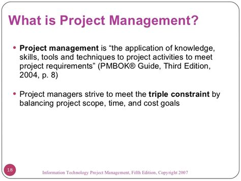 Introduction To Project Management What Is Wsr In Project Management