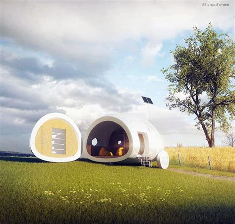 Home Essentials by The Solar And Wind Powered Ecocapsule Has All You Need