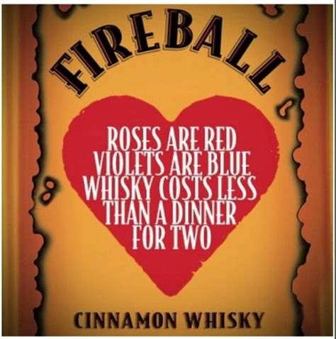 fireball whiskey valentines valentines day quotes whiskey quotesgram