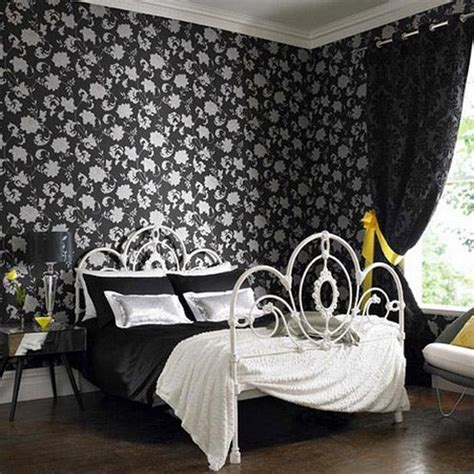 white bedroom with black accents 25 bedroom decorating ideas to use bright accents in black