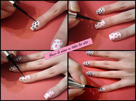 imagenes de uñas acrilicas de leopardo u 241 as de leopardo paso a paso bekamakeup