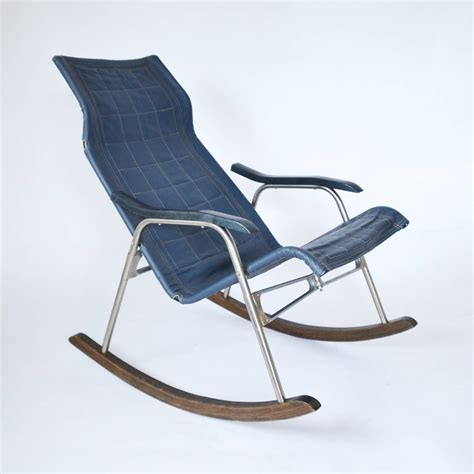 Folding Rocking Chairs by 1970s Folding Rocking Chair At 1stdibs