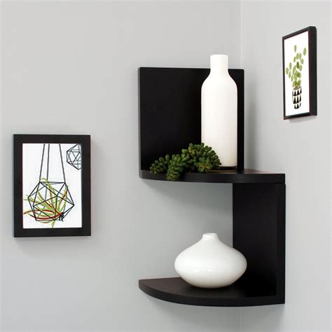 floating corner shelves top 16 black floating wall shelves of 2016 2017 review