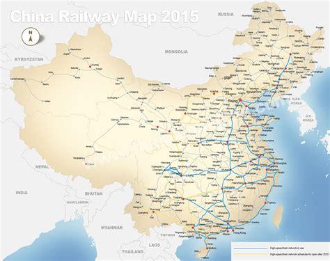 map china china railways general the rail rail tourist