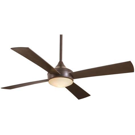 Minka Aire Aluma Oil Rubbed Bronze Outdoor Ceiling Fan Ceiling Fan With Light