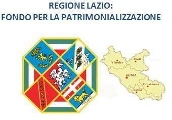 regione lazio sede legale regione lazio fondo per la patrimonializzazione