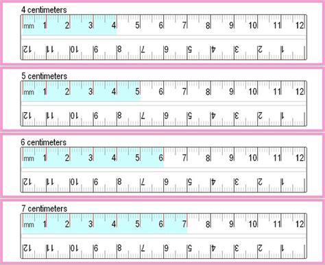 printable ruler for a4 paper printable millimeter chart free printable basic