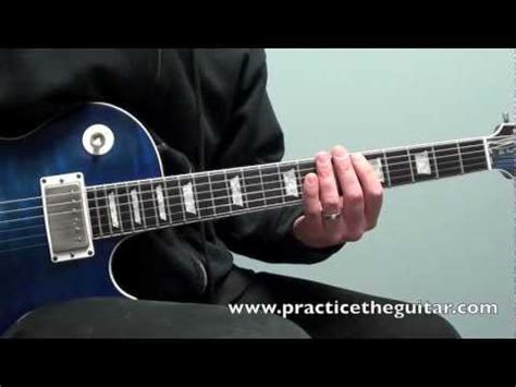 tutorial guitar rockabilly blues rock guitar lessons how to play jimmy page style