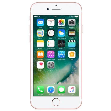 Iphone 32gb iphone 7 32 gb akilli telefon gold vatan bilgisayar