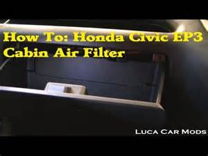 Do I Need A Cabin Air Filter by How To Change A Honda Civic Cabin Air Filter
