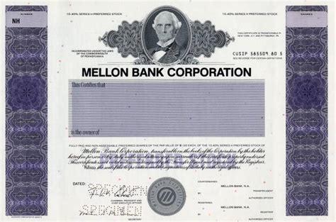 mellon bank corporation mellon bank corporation pennsylvania