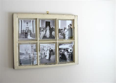 home decor photo frames the woven home home decor projects old window picture frame