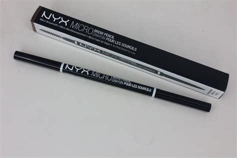 Nyx Micro Bro Pencil nyx micro brow pencil review brow wiz comparison the