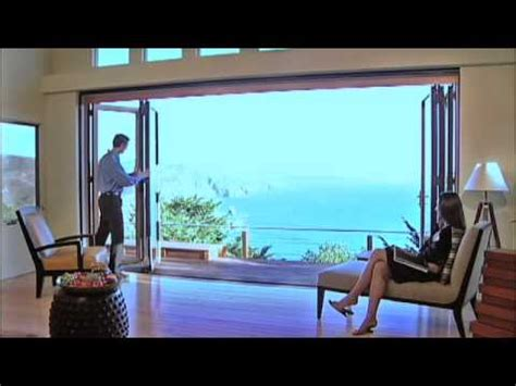 Elegant Livingroom nanawall glass door on the beach glass wall systems