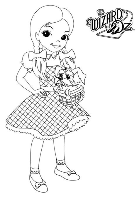 wizard of oz coloring pages dorothy and lion coloringstar