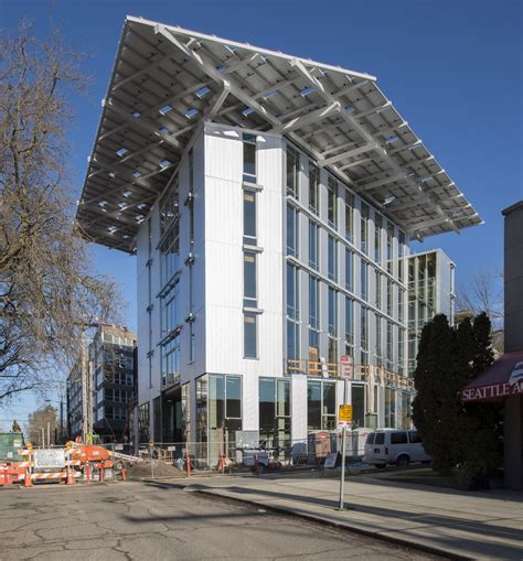 the reality of building and living in a shipping container earthday is birthday for new bullitt center seattle s